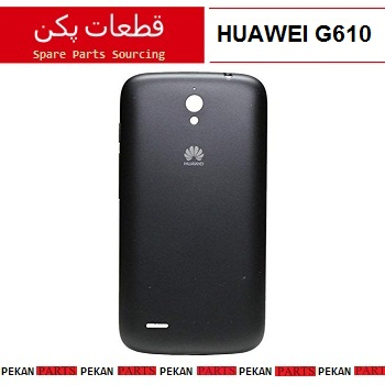 BACK/COVER HUAWEI G610 Black