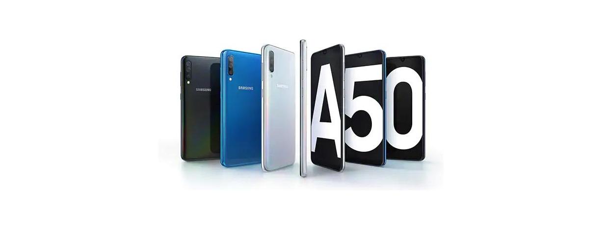 LCD SAMSUNG A50