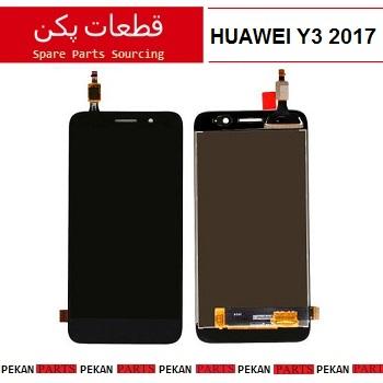 LCD HUAWEI Y3 2017 - 2018 COM Black