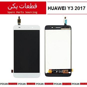 LCD HUAWEI Y3 2017 - 2018 COM White