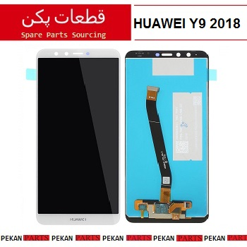 LCD HUAWEI Y9 2018 COM White