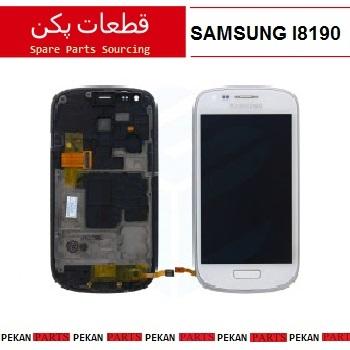 LCD SAMSUNG I8190 COM+F White