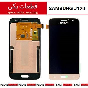 LCD SAMSUNG J120 COM GOLD