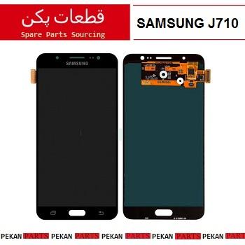 LCD SAMSUNG J710 COM Black