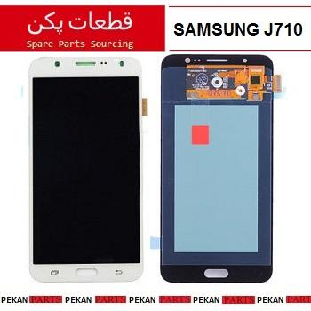 LCD SAMSUNG J710 COM White