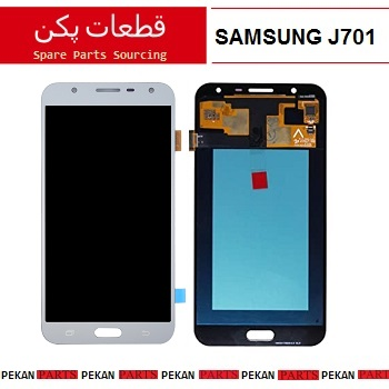 LCD SAMSUNG J7core J701 COM Silver