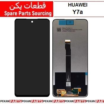 LCD HUAWEI Y7a COM Black