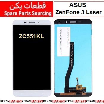 LCD ASUS zf3 Laser ZC551KL Z018D COM White