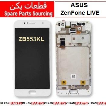 LCD ASUS zf LIVE ZB553KL COM+F White