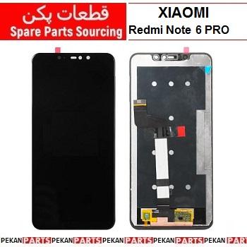 LCD XIAOMI Redmi Note6pro COM Black