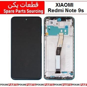 LCD XIAOMI Redmi Note9s COM+F Blue